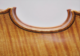 Baroque violin after Giuseppe Guarneri del Gesù, Cremona 1744 # Body length  352mm | Vibrating string length 326mm