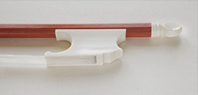 Viola bow after J. Dodd (from 1790) # Pernambuco, mammoth ivory frog und button | 728mm | 55-56g