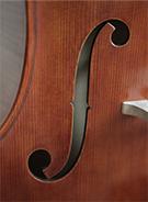 @copy; Nina Strugalla - Violoncello in der Tradition des venezianischen Geigenbaus um 1720 # Korpuslänge 745mm | Mensur 693mm