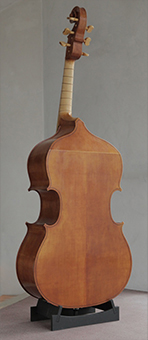 D Violone after Gio: Paolo Maggini, Brescia before 1630 # Body length ca. 1085mm | Vibrating string length approx. 1000mm
